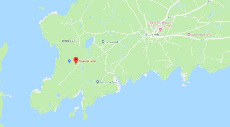 Treginnis Uchaf St Davids Pembrokeshire