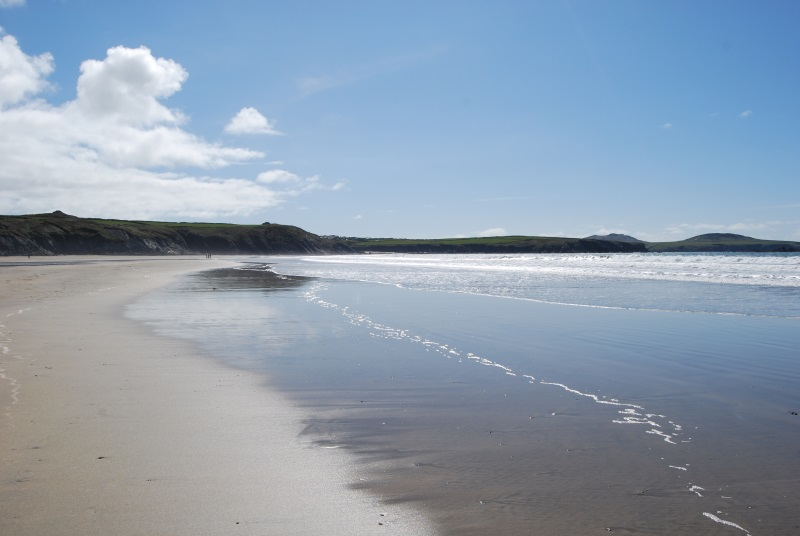 Whitesands Beach for surfing, swimming near St Davids Pembrokeshire